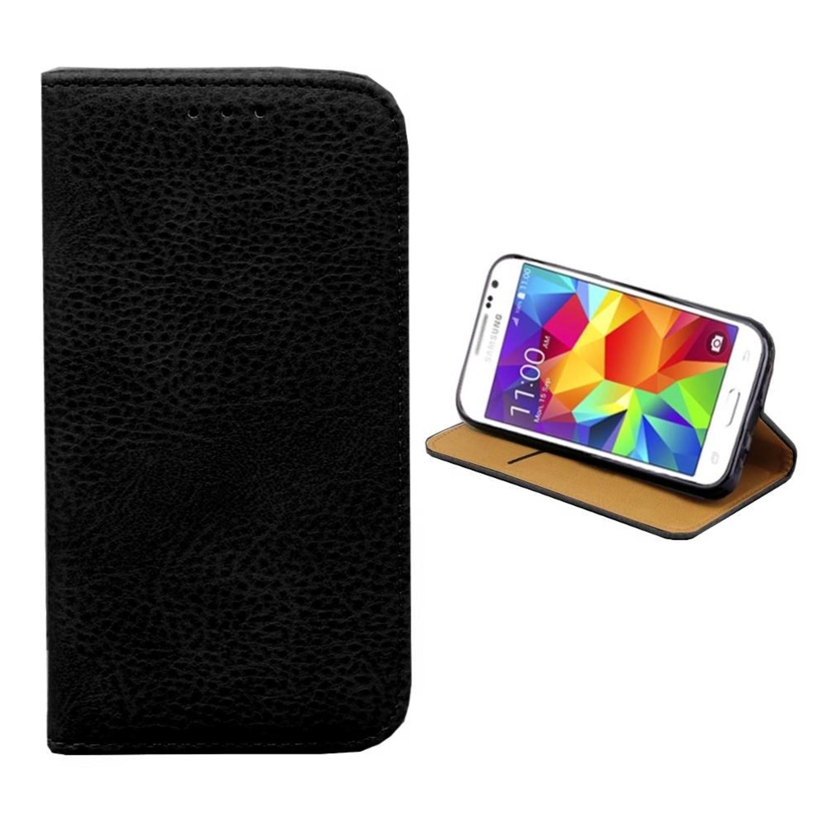 Colorfone Hoesje Book voor Samsung J2 2016 Zwart