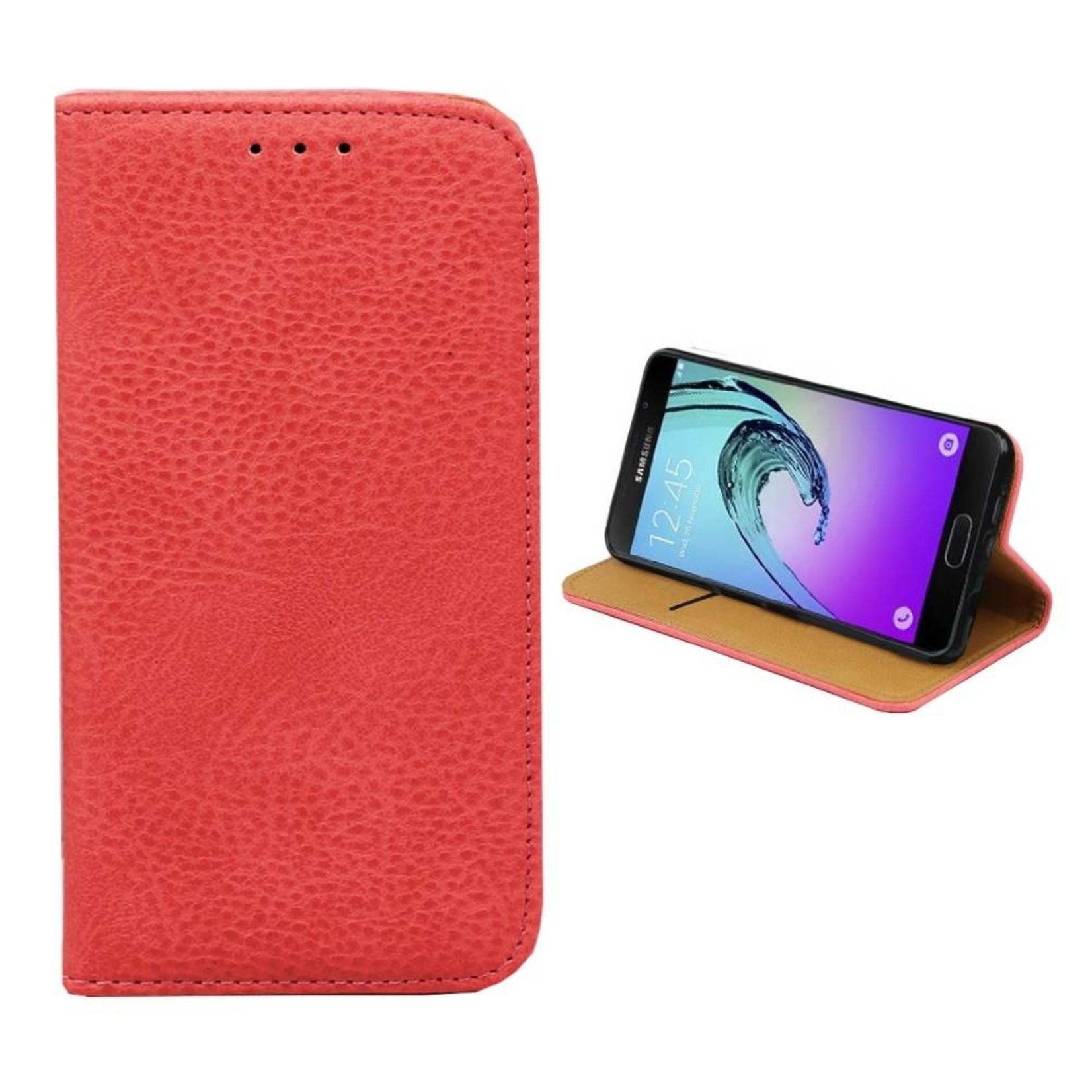 Colorfone Hoesje Book voor Samsung J3 Pro/Prime Roze