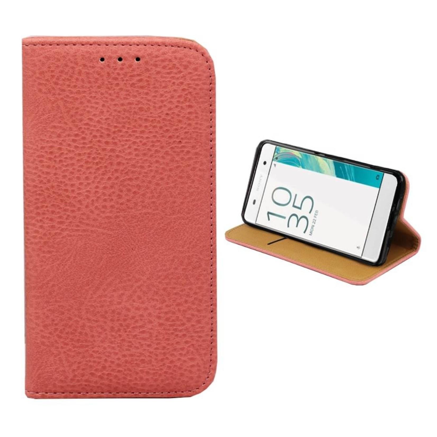 Colorfone Hoesje Book voor Sony Xperia X Roze