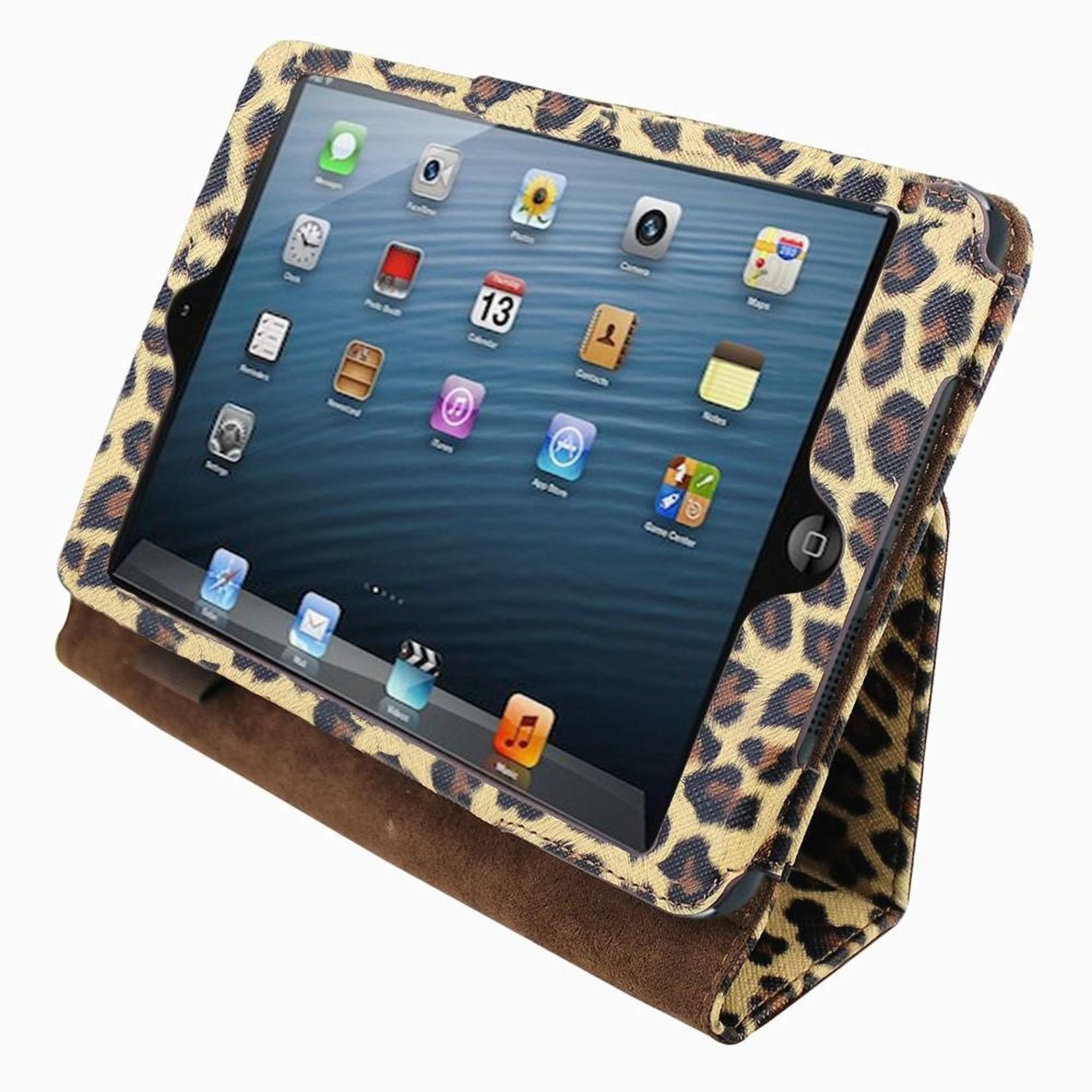 Colorfone Hoesje Business Color Apple iPad Mini/Retina (Mini 2/3) Luipaard