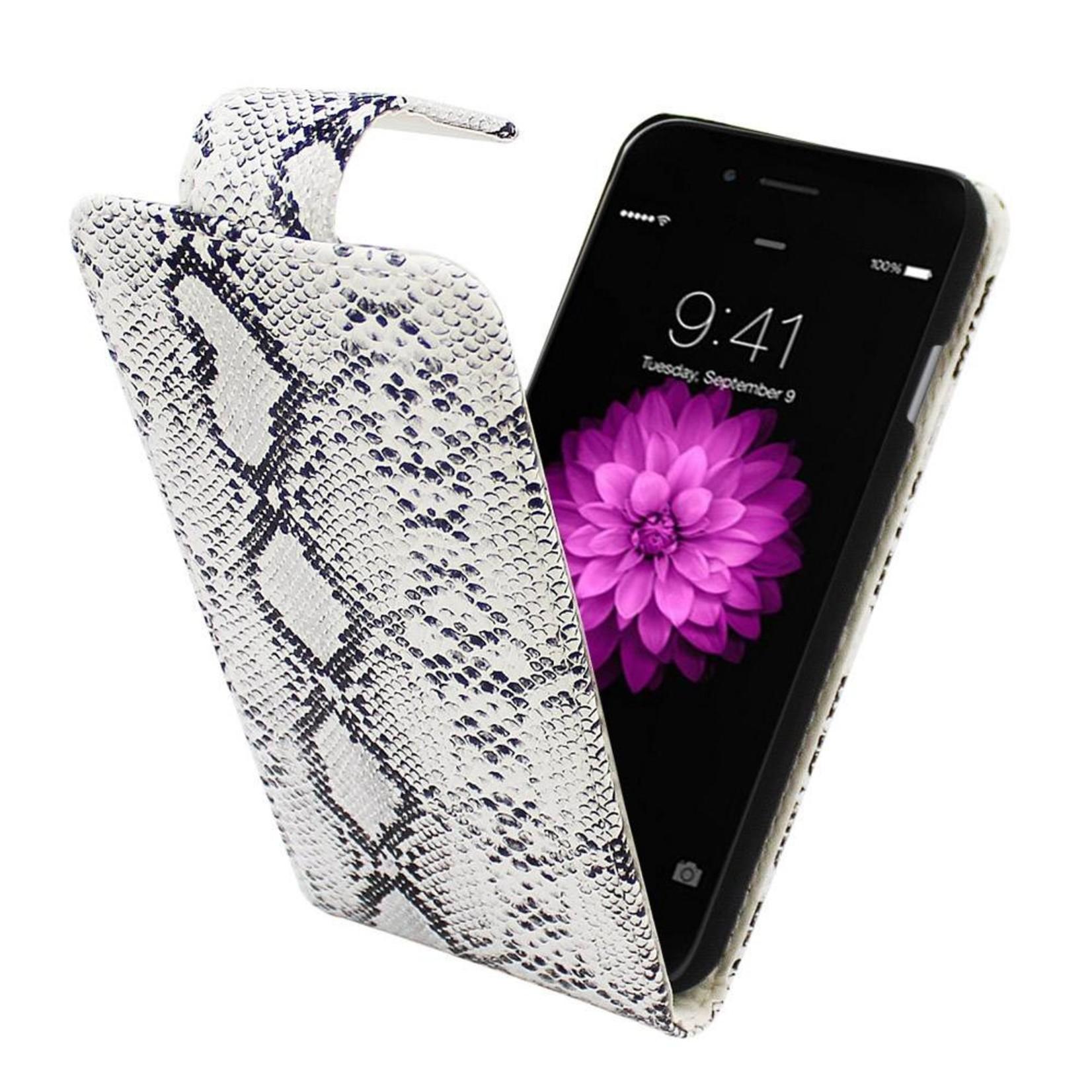 Colorfone Hoesje Business Color voor Apple iPhone 6 Plus Serpentijn Wit