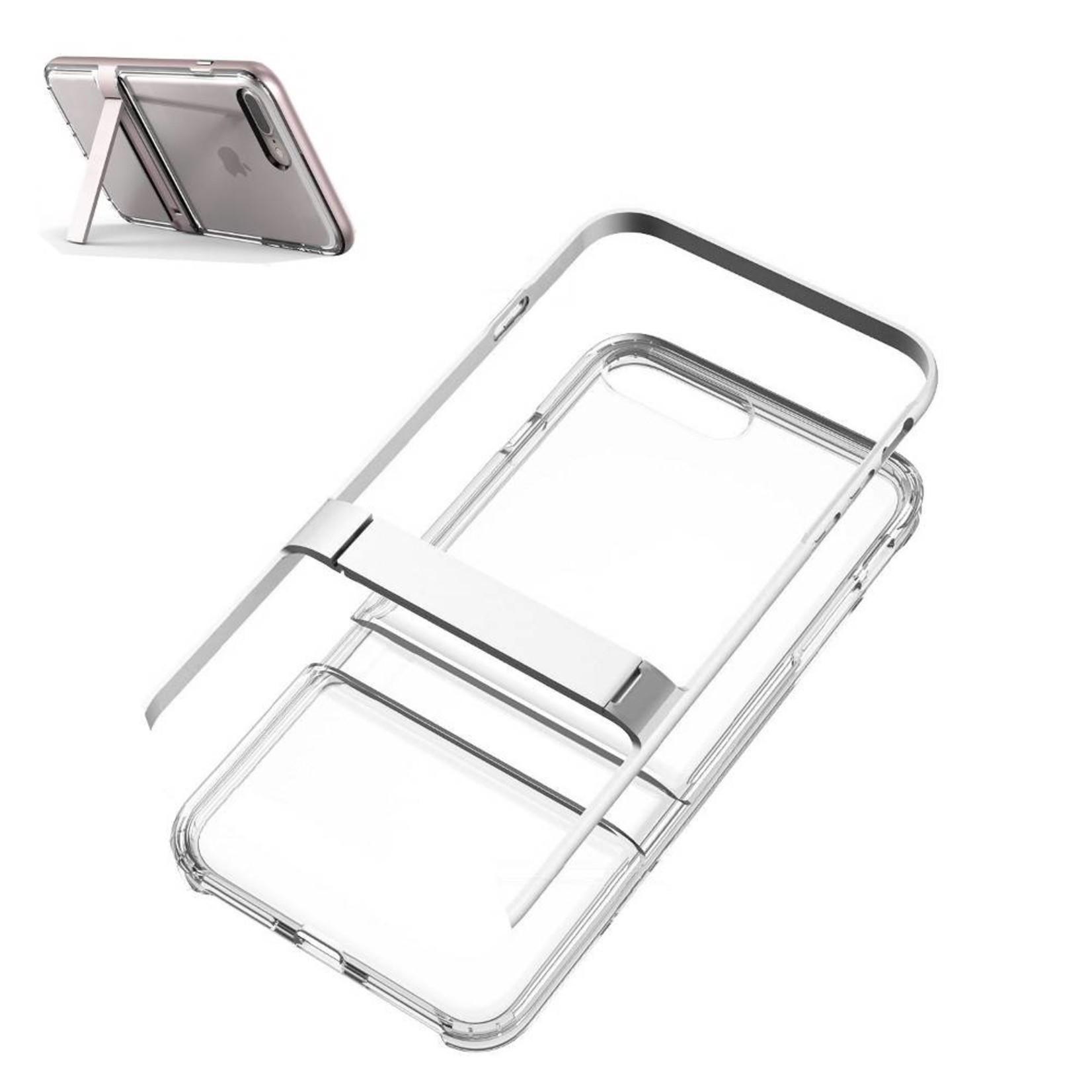 Colorfone Hoesje CoolSkin 2-in-1 Apple iPhone 8 Plus/7 Plus Zilver