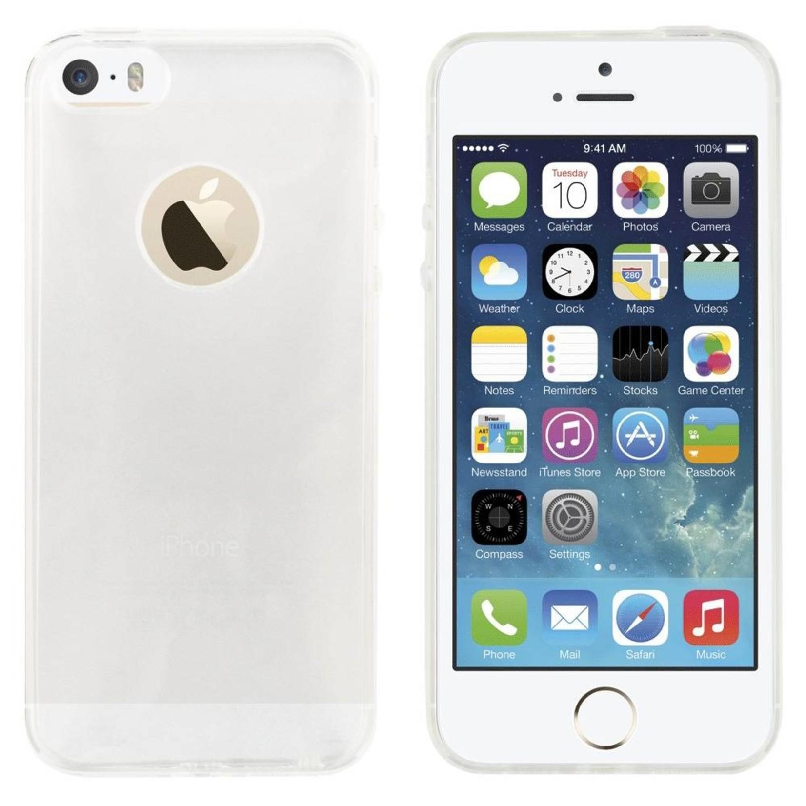 Colorfone Hoesje CoolSkin3T voor Apple iPhone 5/5S/SE Tr. Wit