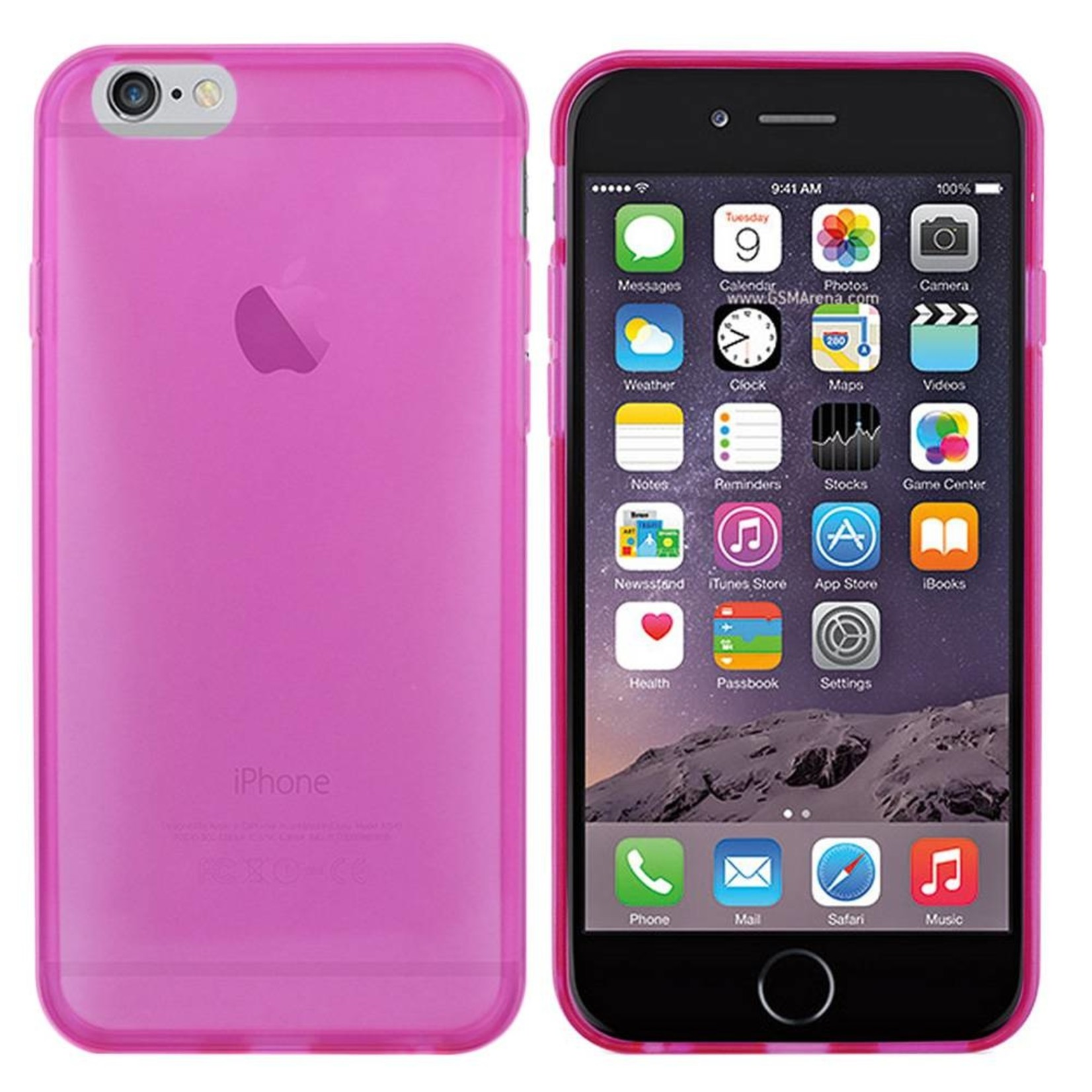 Colorfone Hoesje CoolSkin3T voor Apple iPhone 6 Tr. D. Roze