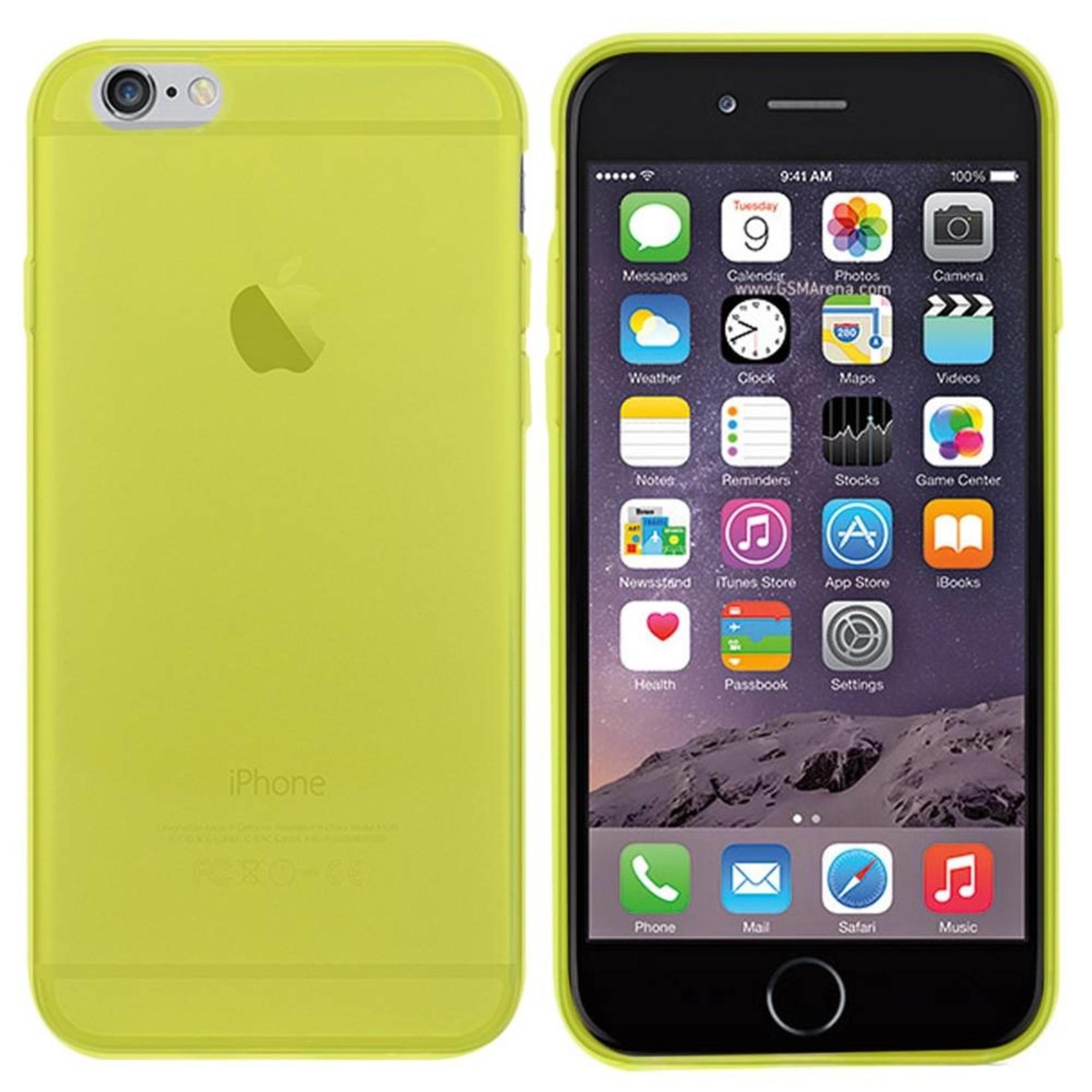 Colorfone Hoesje CoolSkin3T voor Apple iPhone 6 Tr. Geel