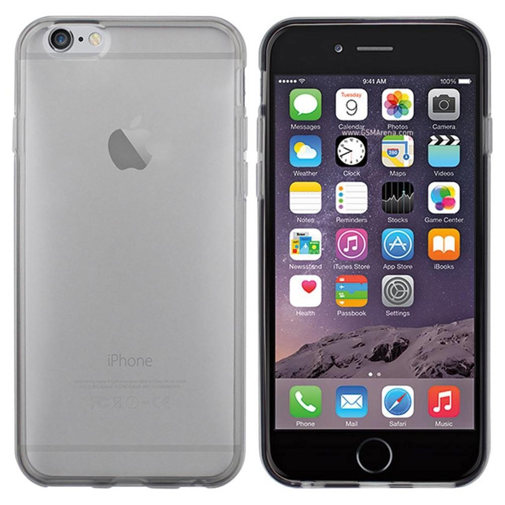 Colorfone Hoesje CoolSkin3T voor Apple iPhone 6 Tr. Zwart