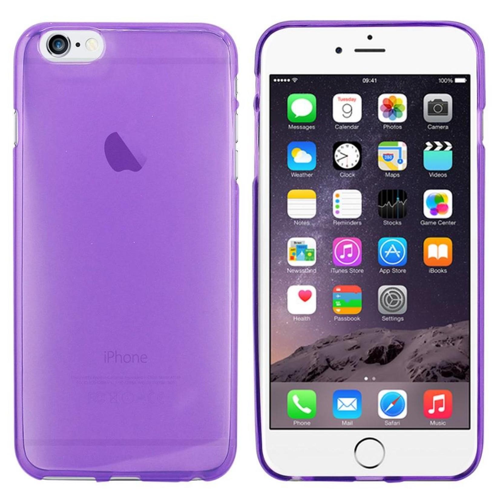 Colorfone Hoesje CoolSkin3T voor Apple iPhone 6 Plus Tr. Paars