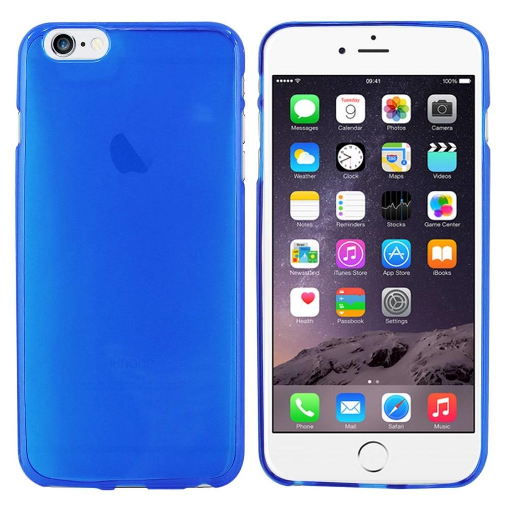 Colorfone Hoesje CoolSkin3T voor Apple iPhone 6 Plus Tr. Blauw