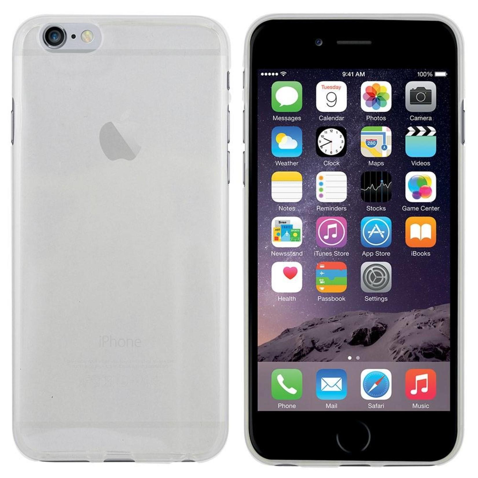 Colorfone Hoesje CoolSkin3T voor Apple iPhone 6 Plus Tr. Wit