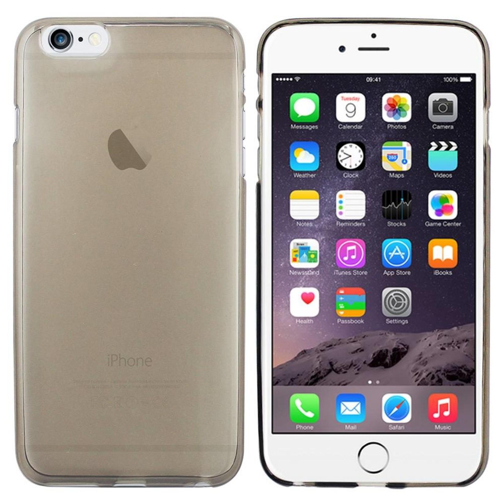 Colorfone Hoesje CoolSkin3T voor Apple iPhone 6 Plus Tr. Zwart