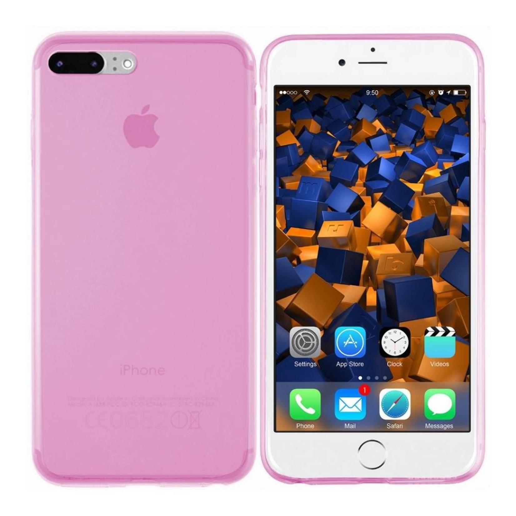 Colorfone Hoesje CoolSkin3T voor Apple iPhone 8 Plus/7 Plus Tr. Roze