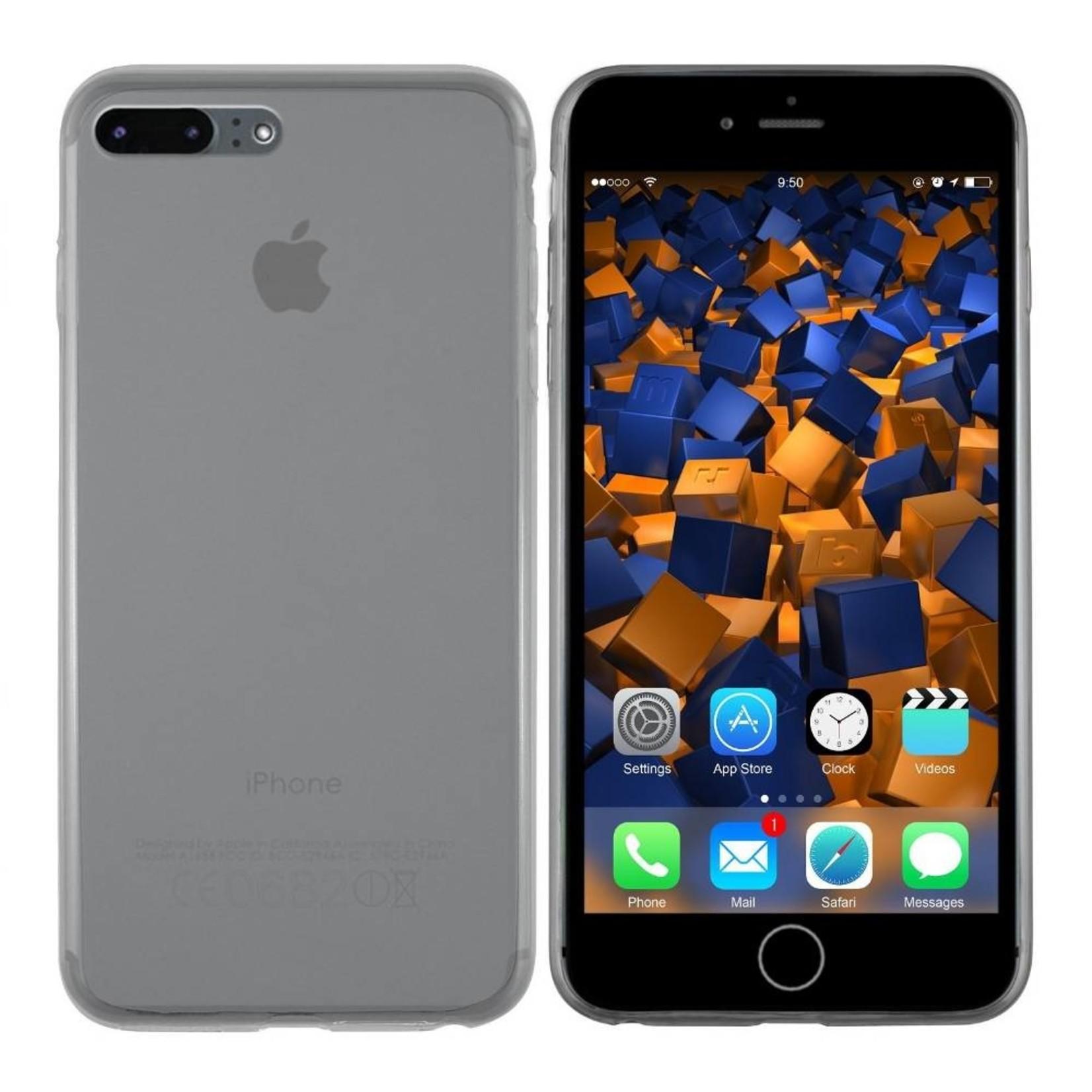 Colorfone Hoesje CoolSkin3T voor Apple iPhone 8 Plus/7 Plus Tr. Zwart