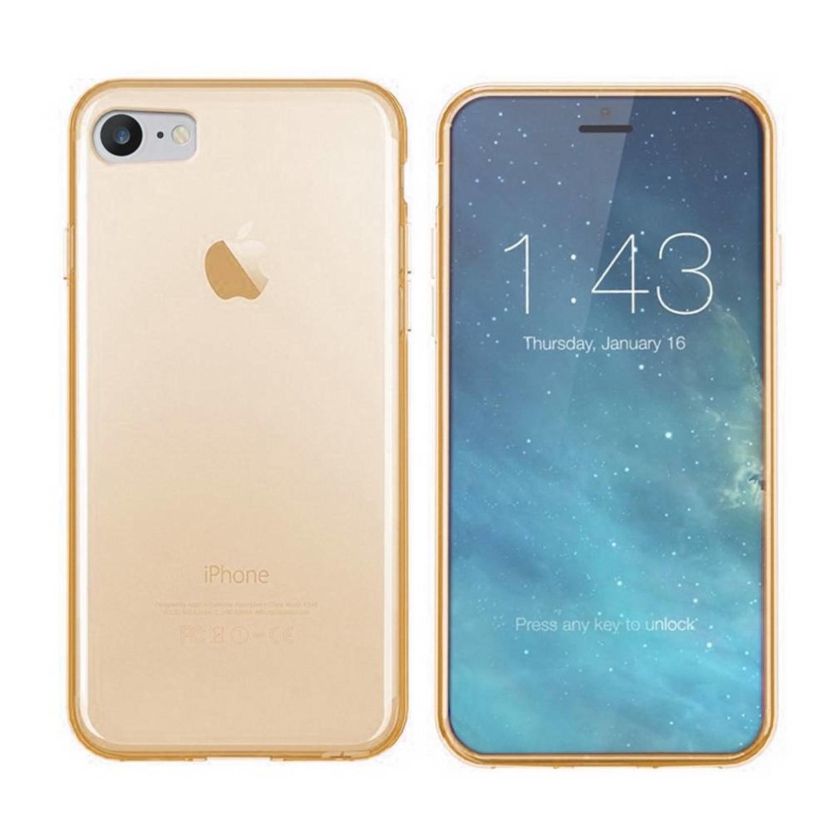 Colorfone Hoesje CoolSkin3T voor Apple iPhone 8/7 Tr. Goud