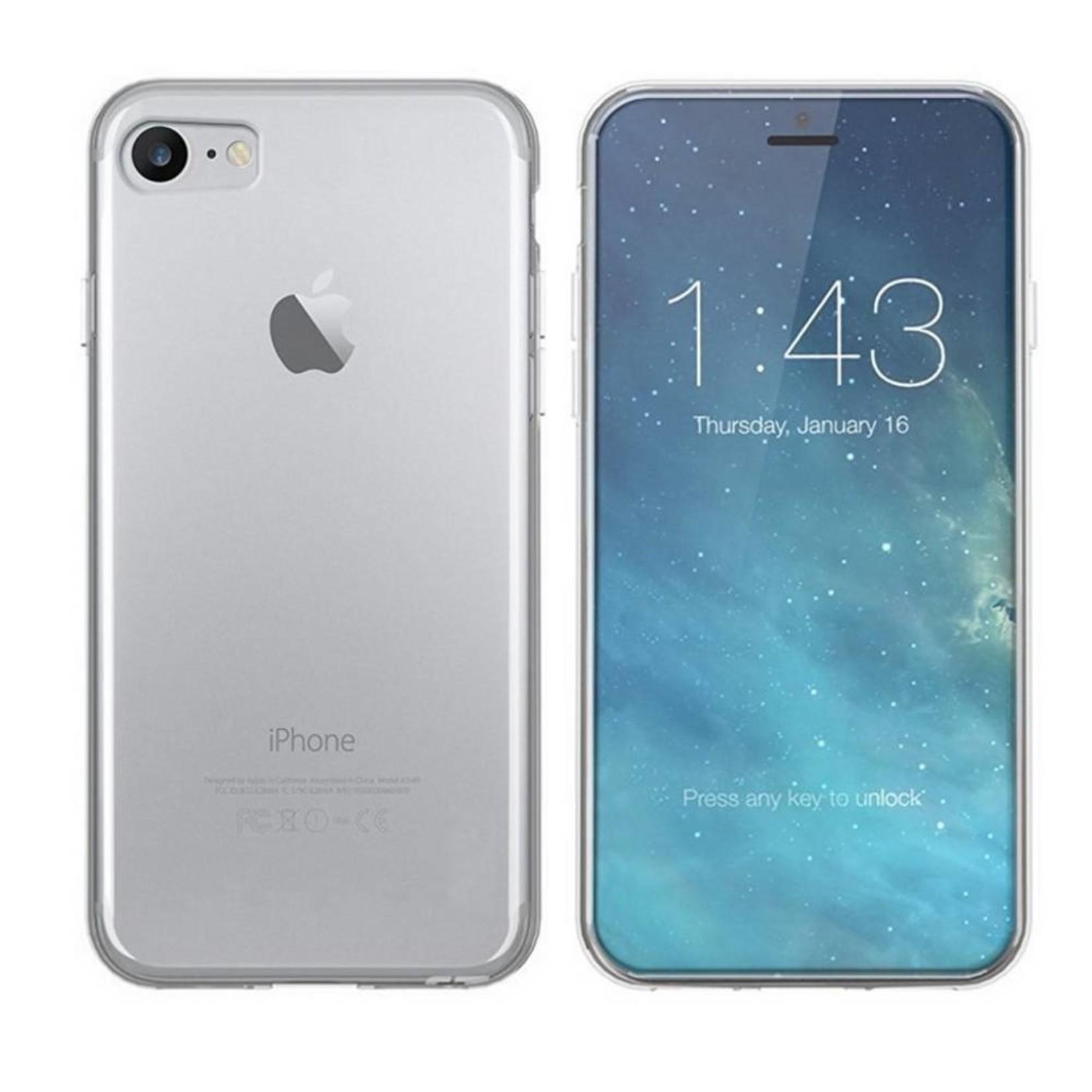 Colorfone Hoesje CoolSkin3T voor Apple iPhone 8/7 Tr. Wit