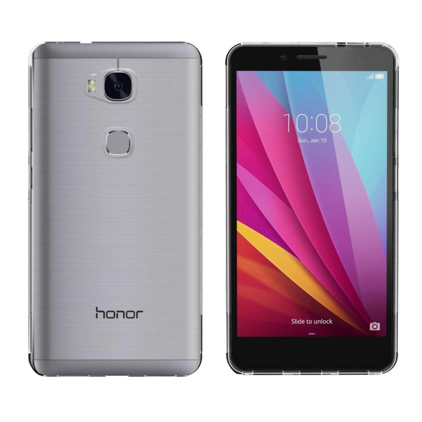 Colorfone Hoesje CoolSkin3T voor Huawei Honor 5X Tr. Wit