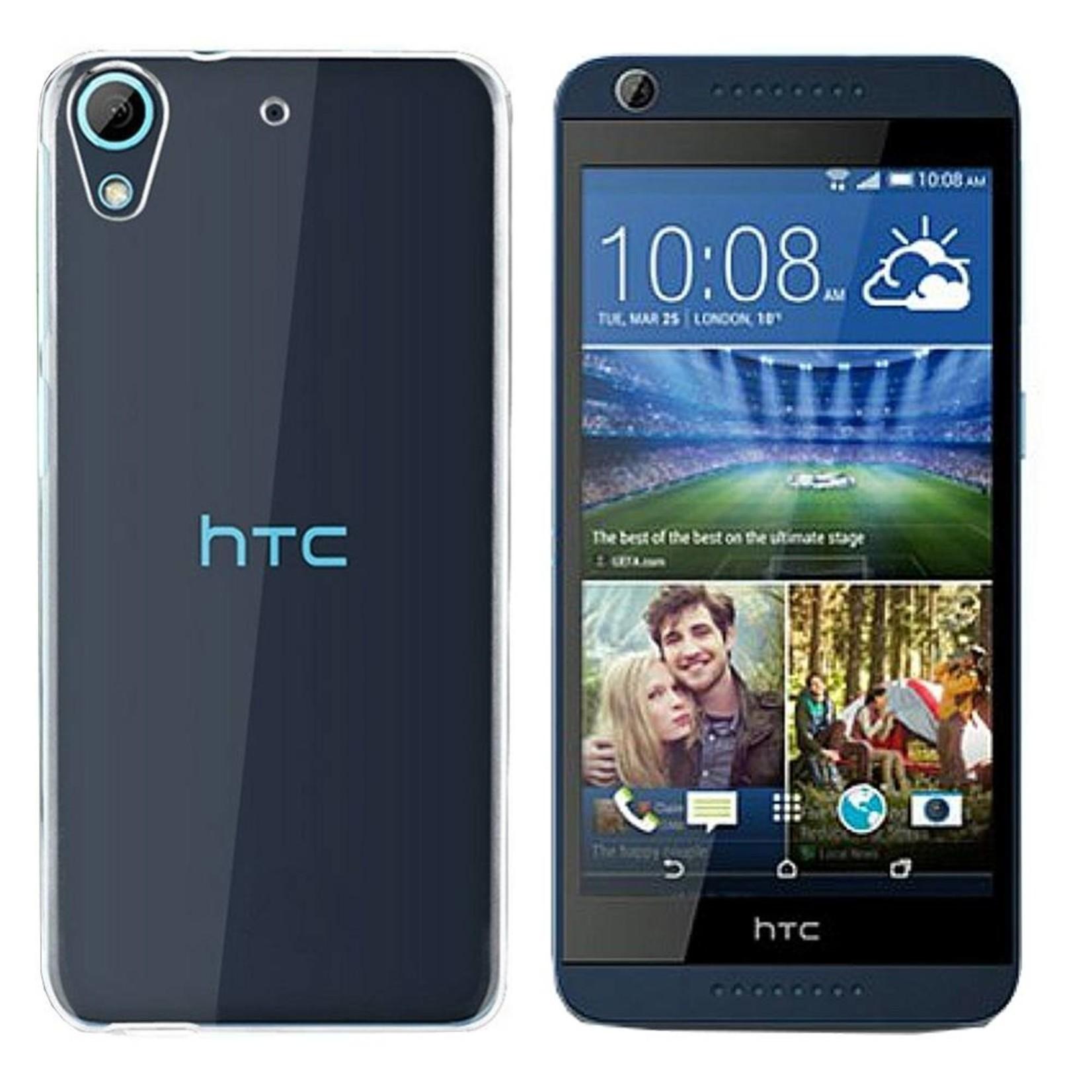 Colorfone Hoesje CoolSkin3T voor HTC 628/626 Tr. Wit