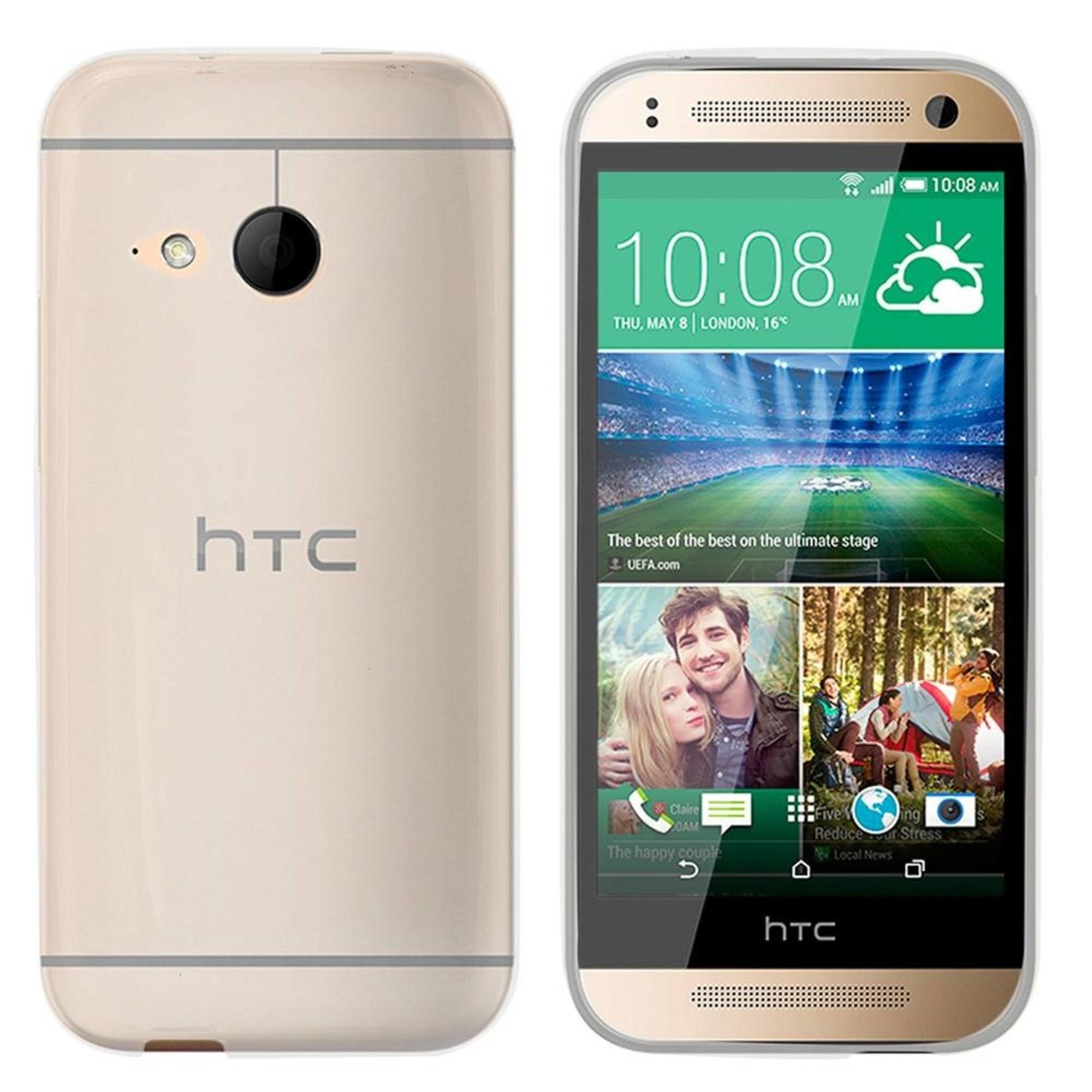 Colorfone Hoesje CoolSkin3T voor HTC One Mini 2 Tr. Wit