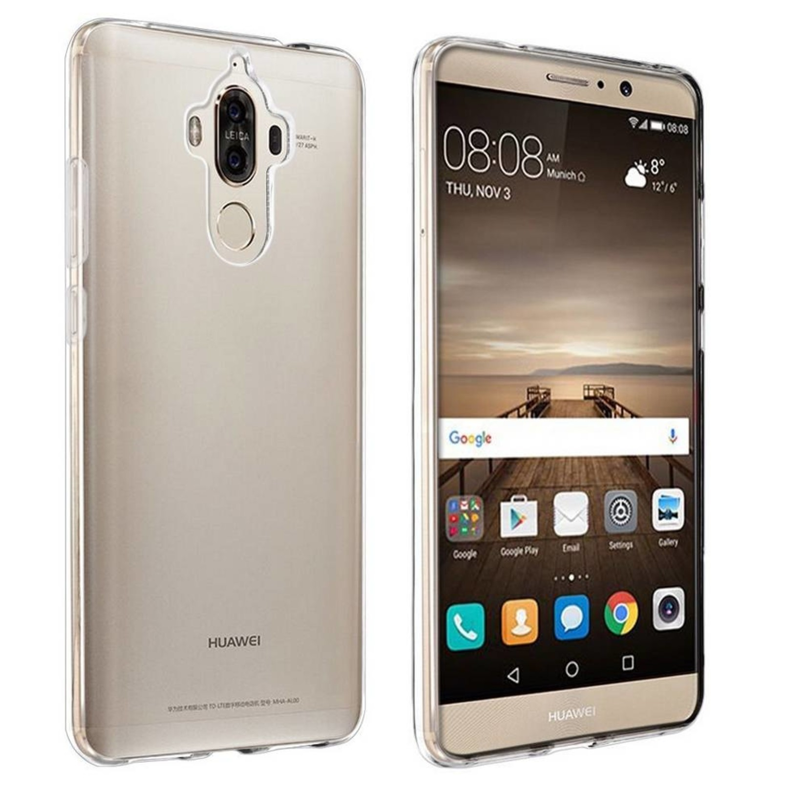Colorfone Hoesje CoolSkin3T voor Huawei Mate 9 Tr. Wit