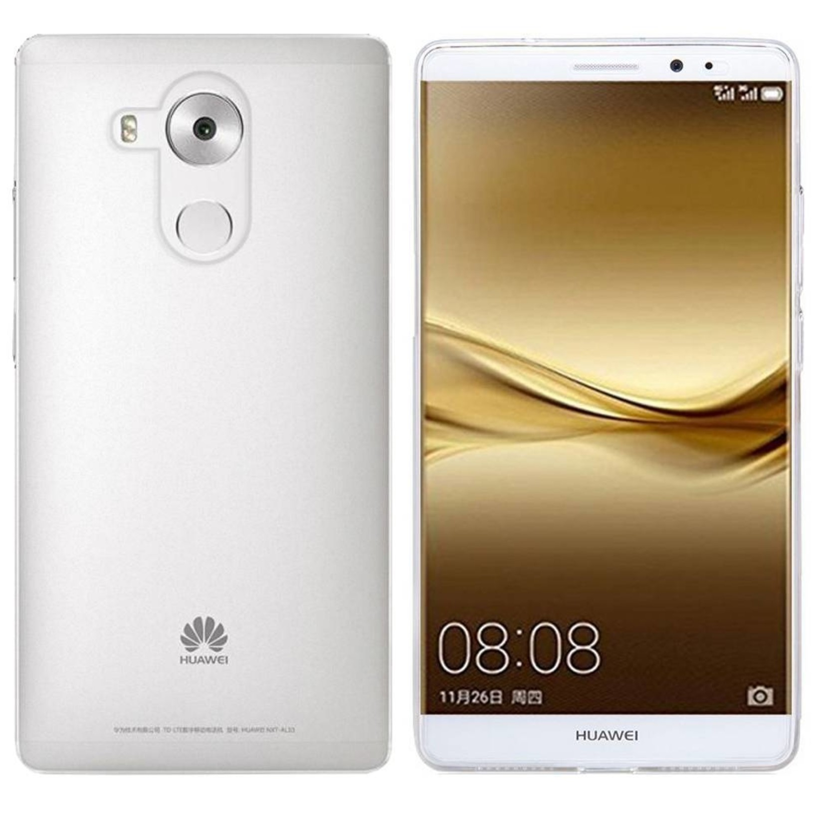 Colorfone Hoesje CoolSkin3T voor Huawei Mate 8 Tr. Wit