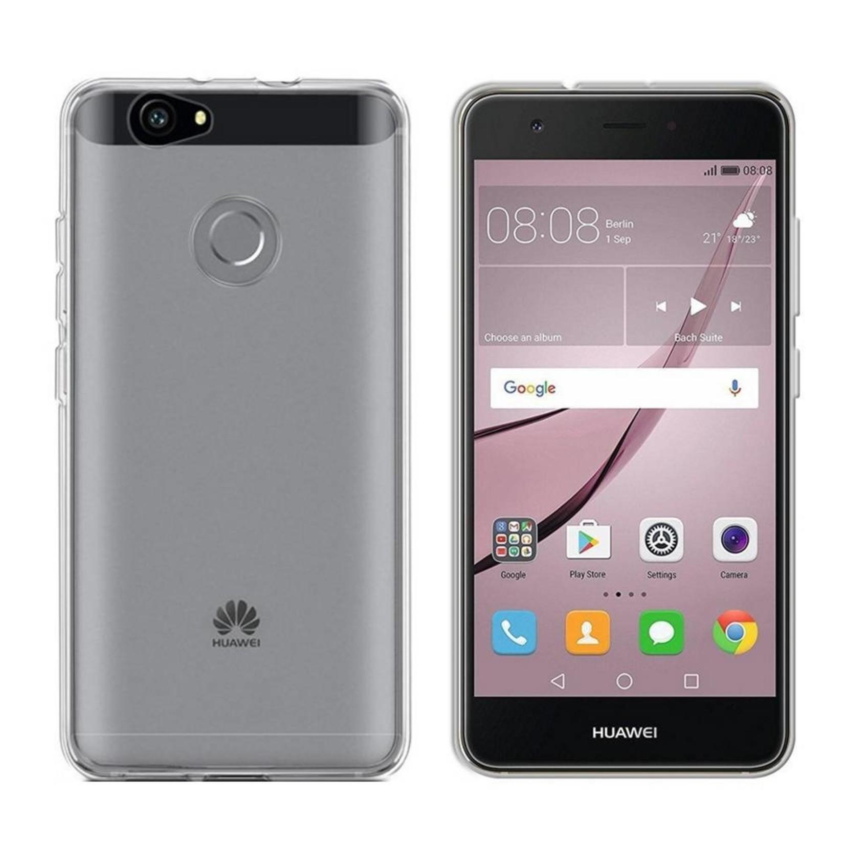 Colorfone Hoesje CoolSkin3T voor Huawei Nova Tr. Wit
