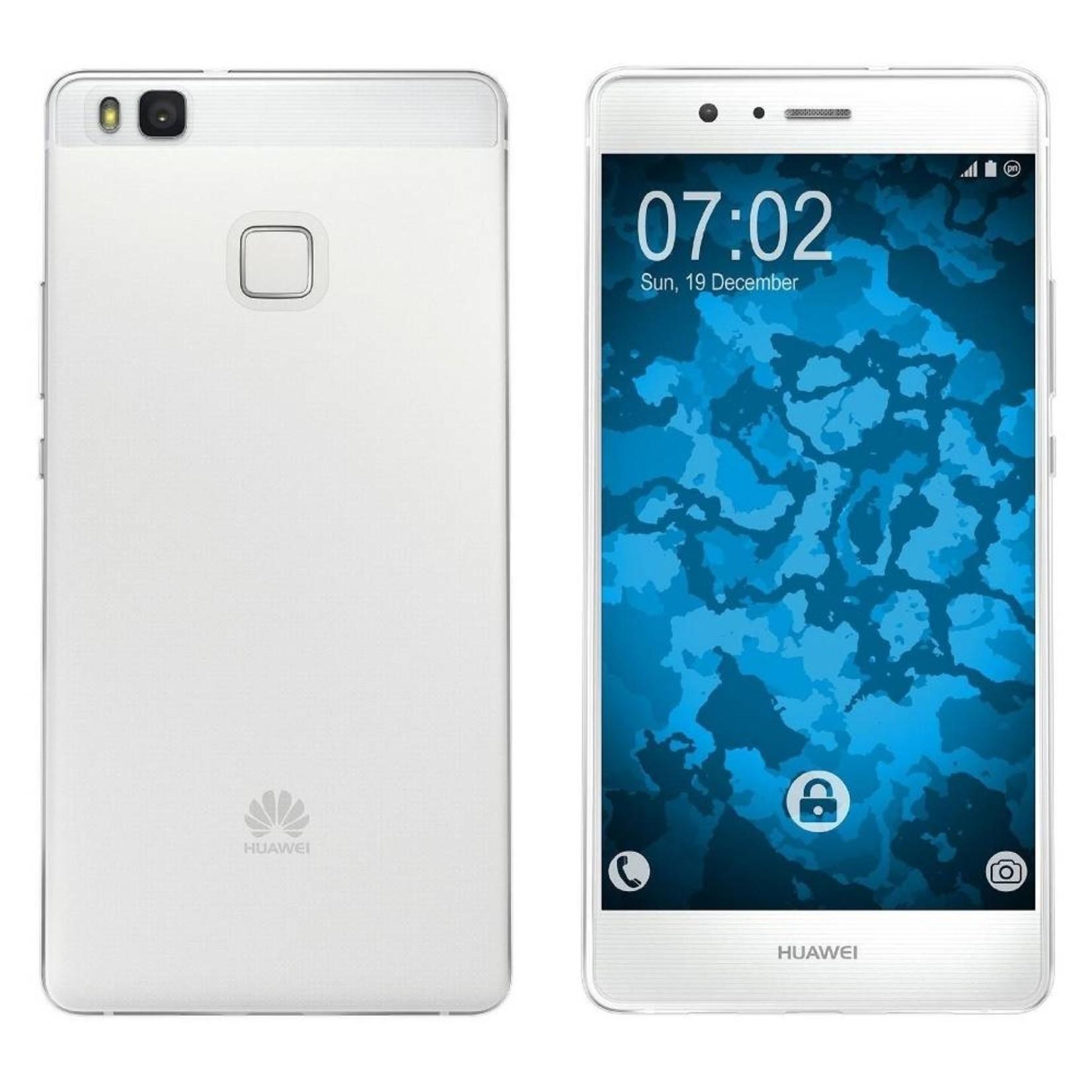 Colorfone Hoesje CoolSkin3T voor Huawei P9 Lite Tr. Wit