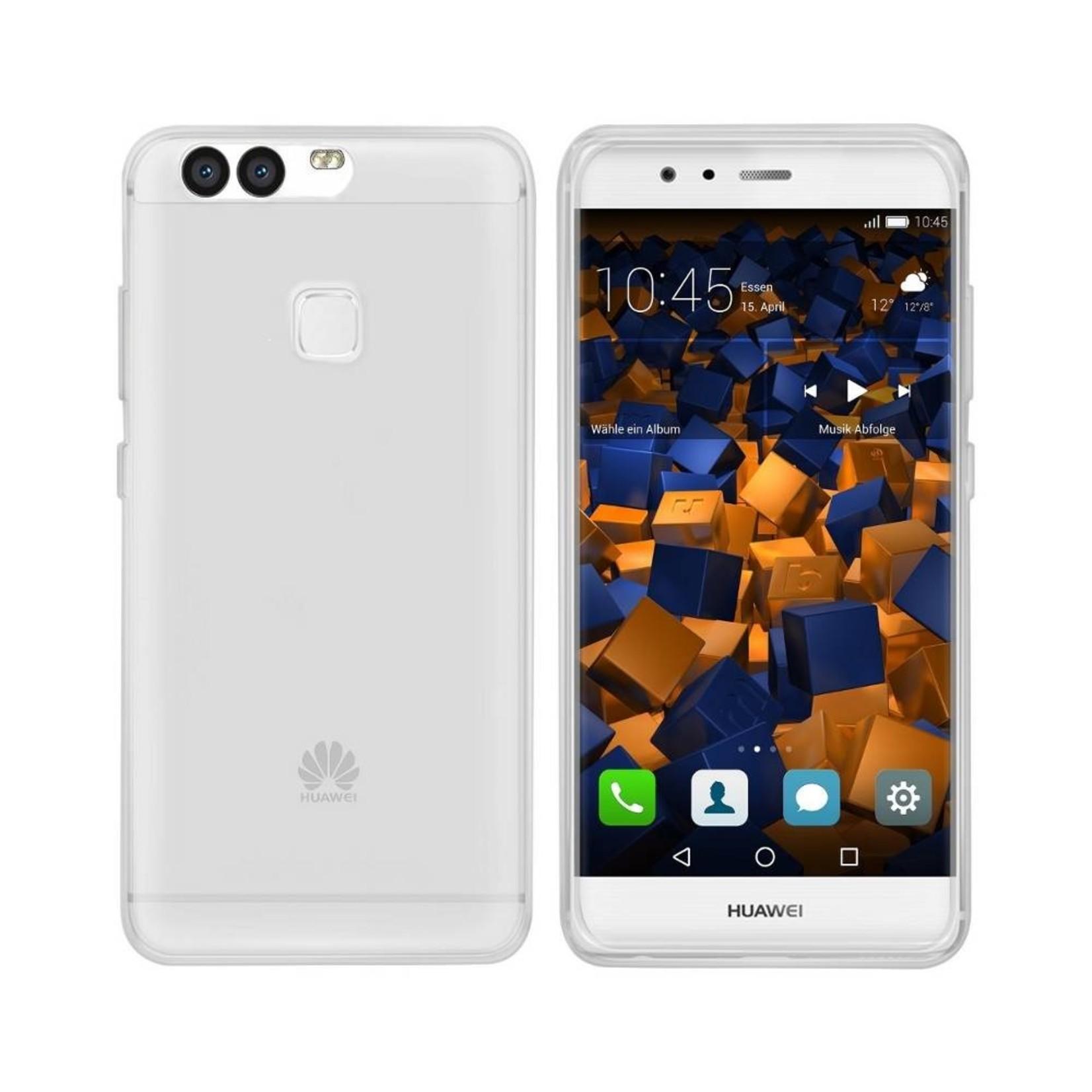 Colorfone Hoesje CoolSkin3T voor Huawei P9 Plus Tr. Wit