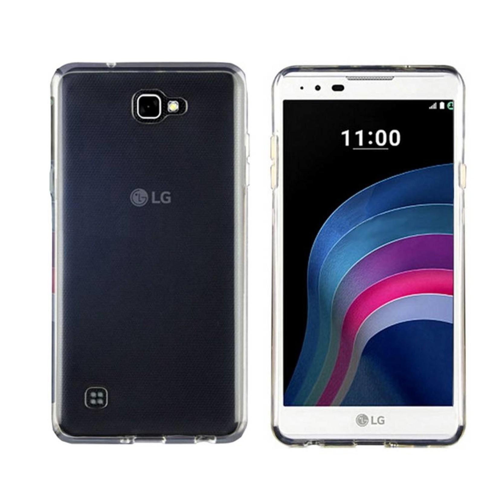 Colorfone Hoesje CoolSkin3T voor LG X5 Tr. Wit