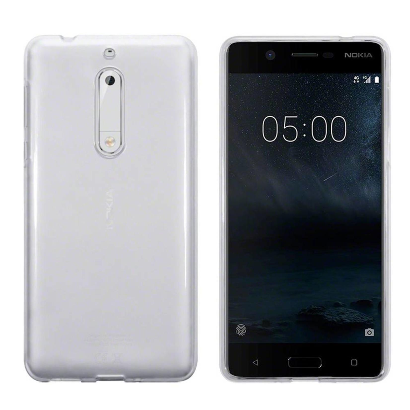 Colorfone Hoesje CoolSkin3T voor Nokia 5 Tr. Wit