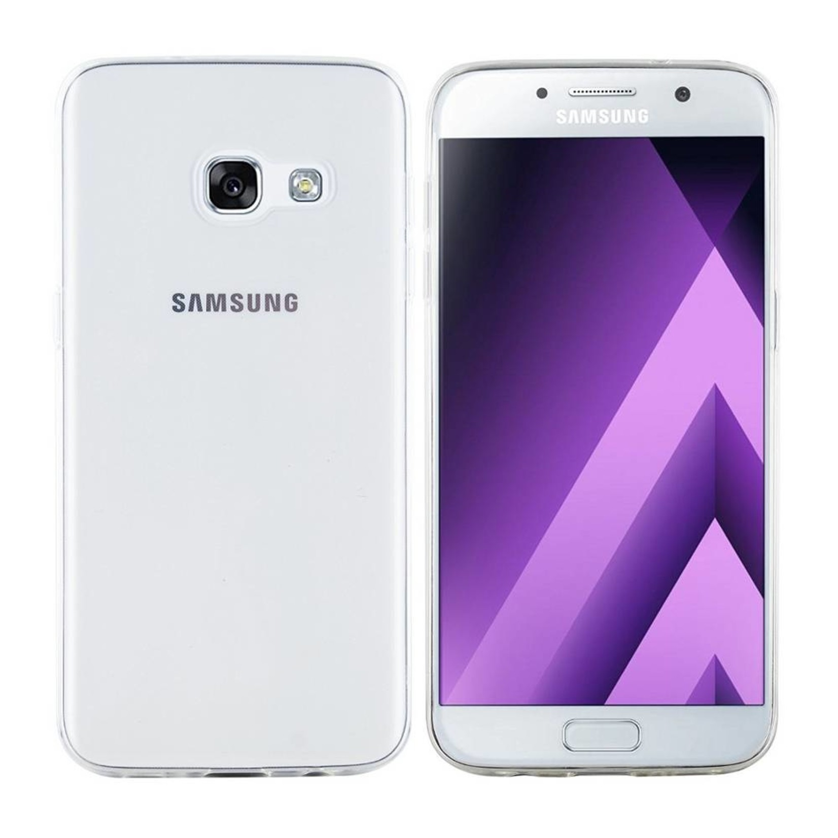 Colorfone Hoesje CoolSkin3T voor Samsung Galaxy A5 2017 Tr. Wit