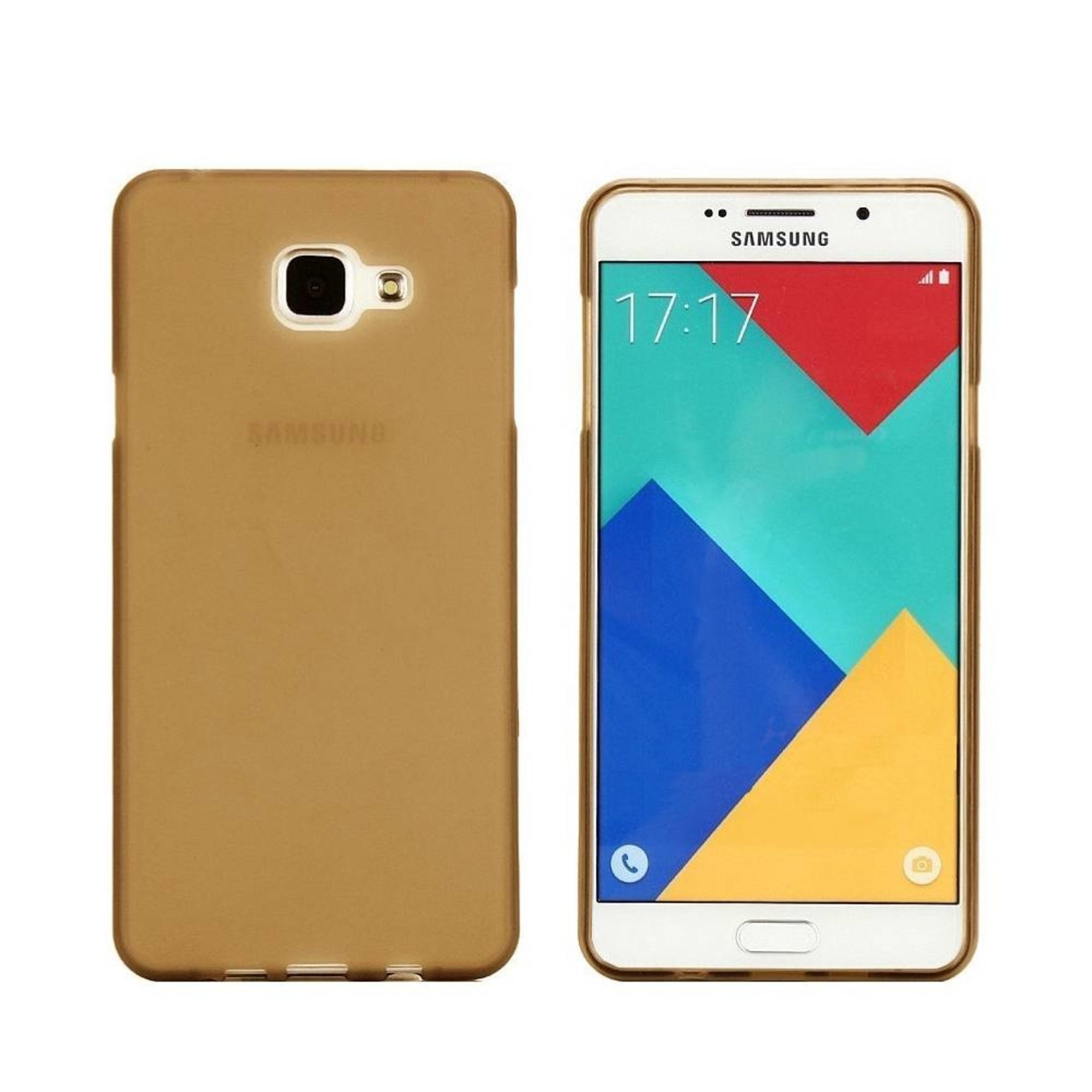 Colorfone Hoesje CoolSkin3T voor Samsung Galaxy A3 2016 Tr. Goud