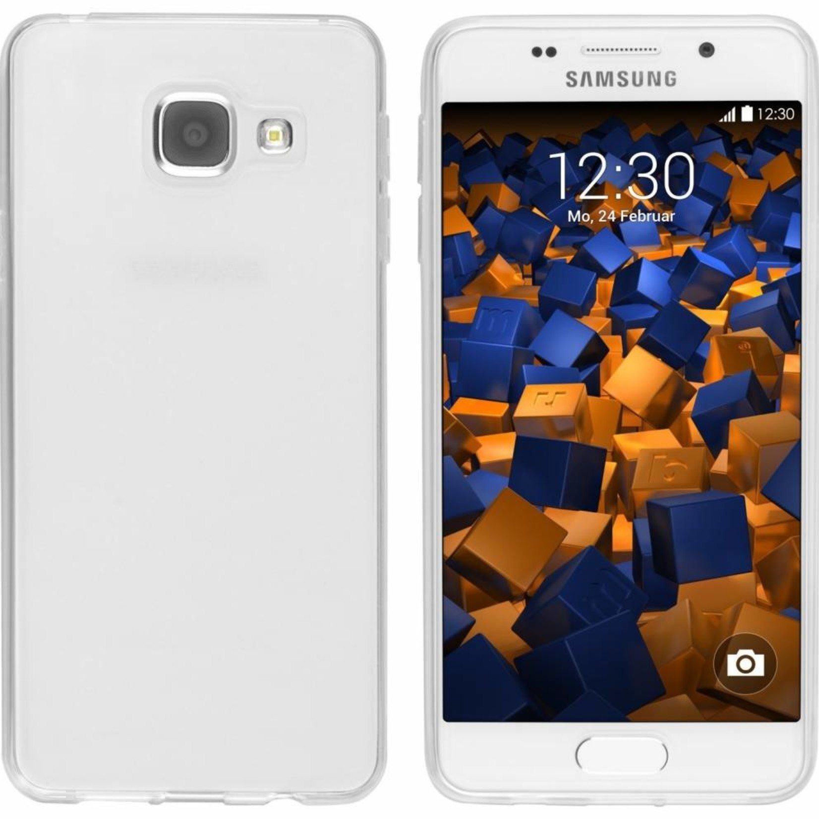 Colorfone Hoesje CoolSkin3T voor Samsung Galaxy A7 2016 Tr. Wit