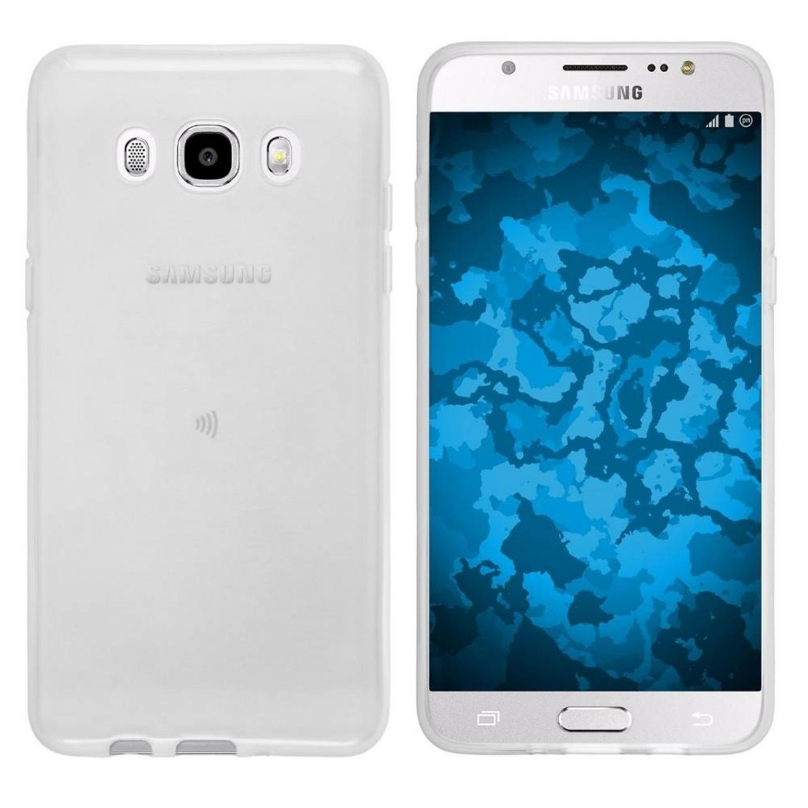 Colorfone Hoesje CoolSkin3T voor Samsung J5 2016/Duos Transparant Wit
