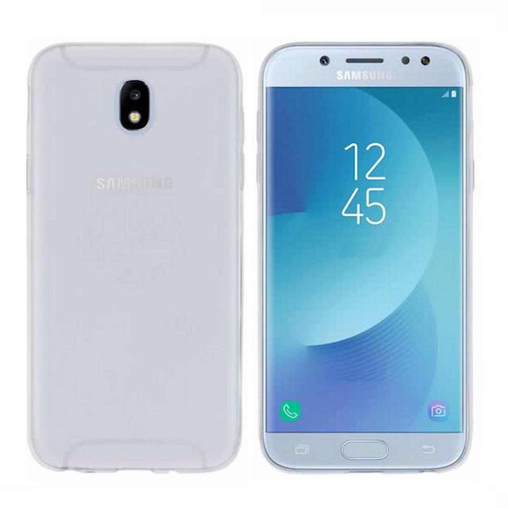Colorfone Hoesje CoolSkin3T voor Samsung J5 2017 Transparant Wit