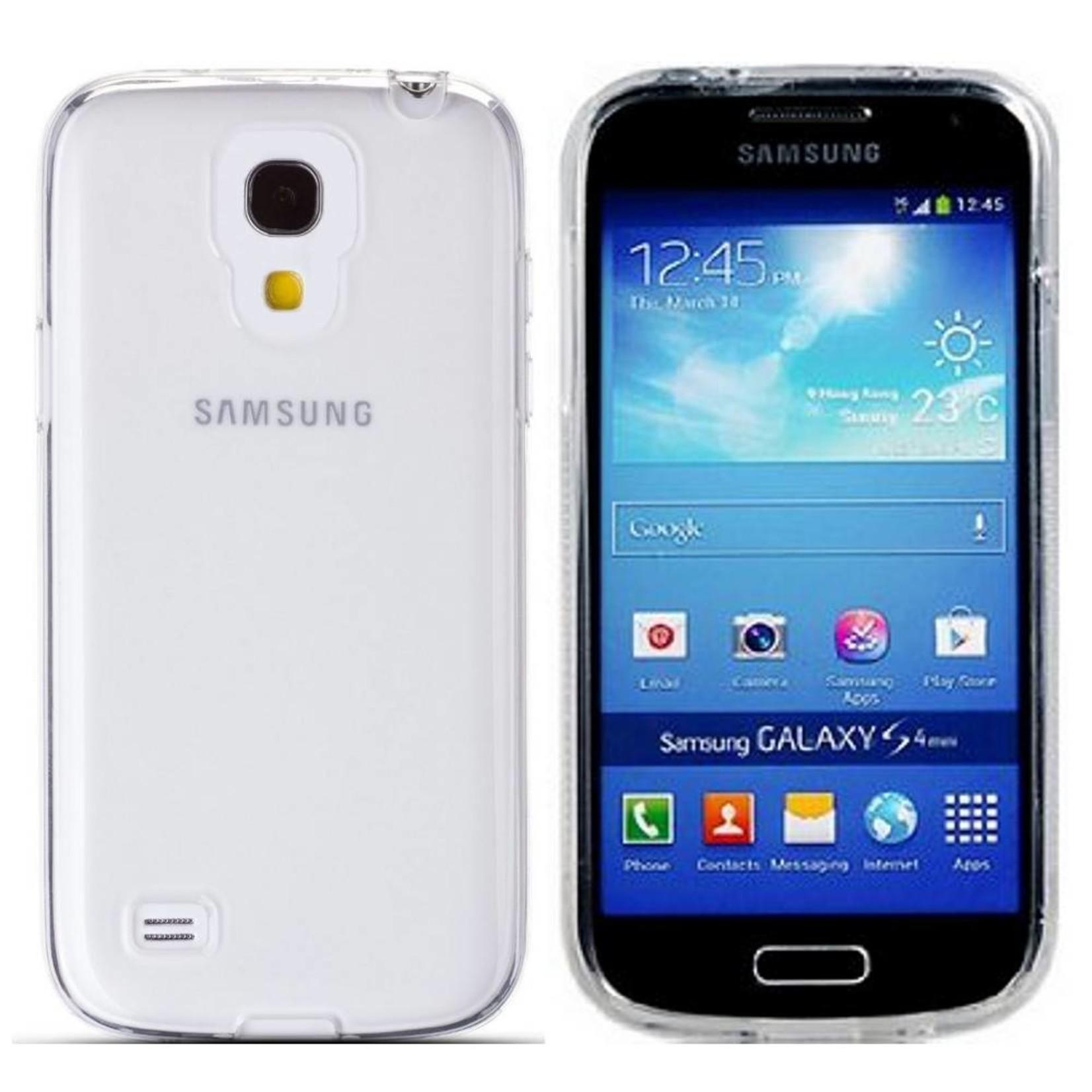 Colorfone Hoesje CoolSkin3T voor Samsung Galaxy i9190 S4 Mini Transp. Wit