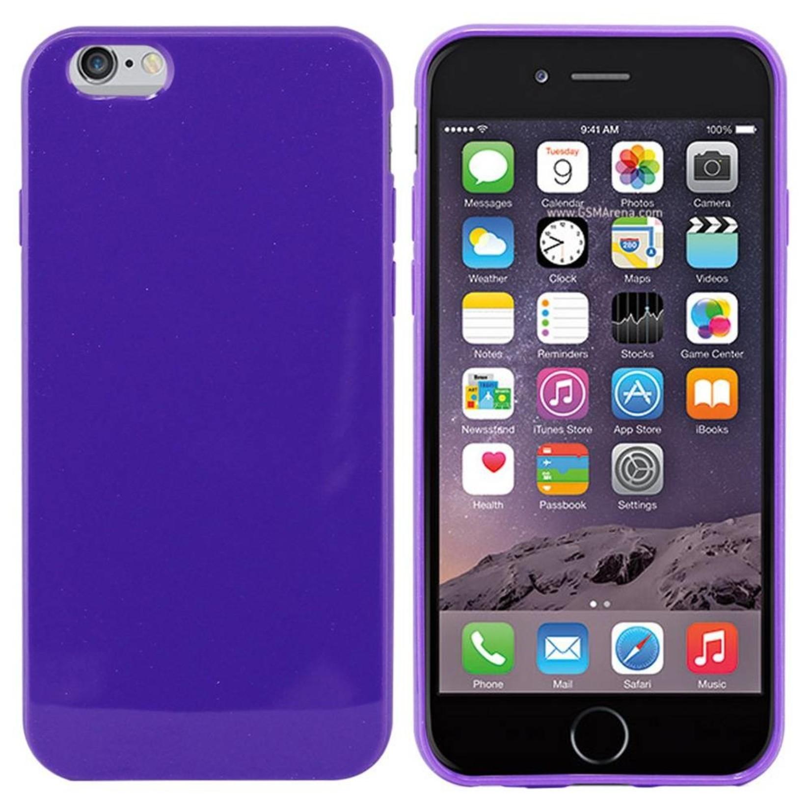 Colorfone Hoesje CoolSkin voor Apple iPhone 6 Plus/6S Plus Piano-D. Paars