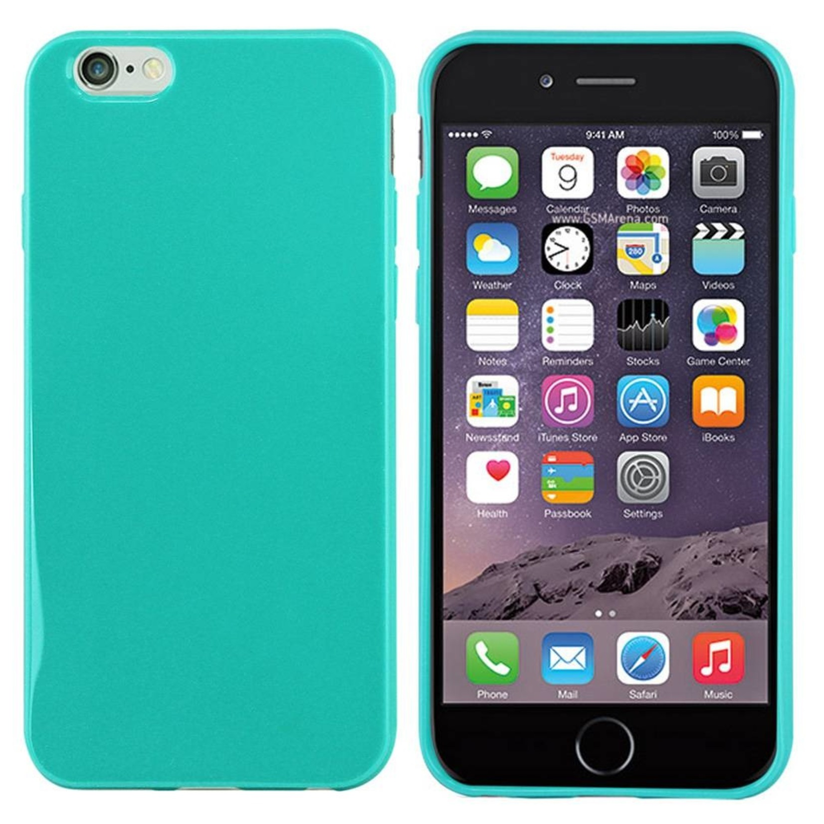 Colorfone Hoesje CoolSkin voor Apple iPhone 6 Plus/6S Plus Piano-Turquoise