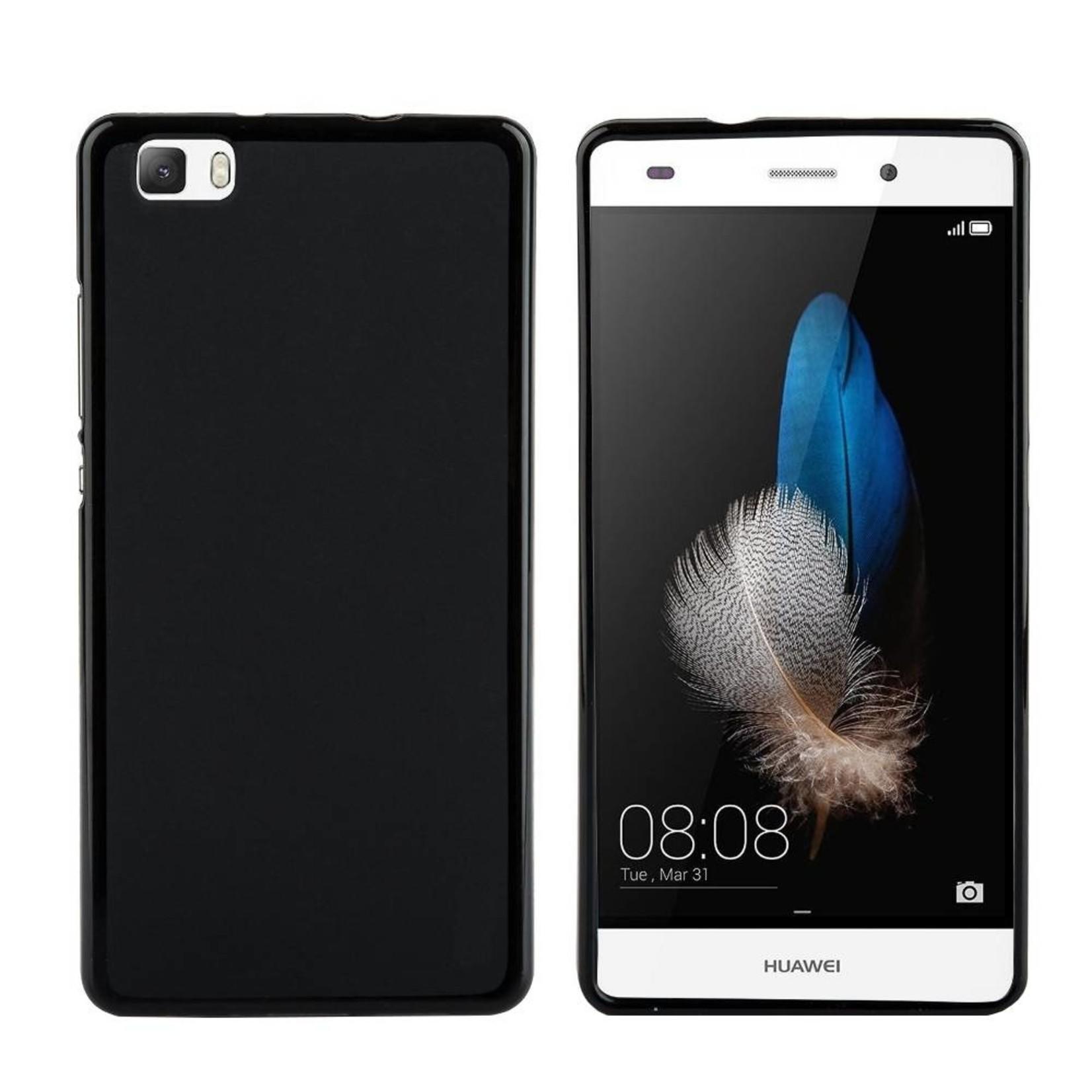 Colorfone Hoesje CoolSkin voor Huawei P8 Lite Piano-Zwart