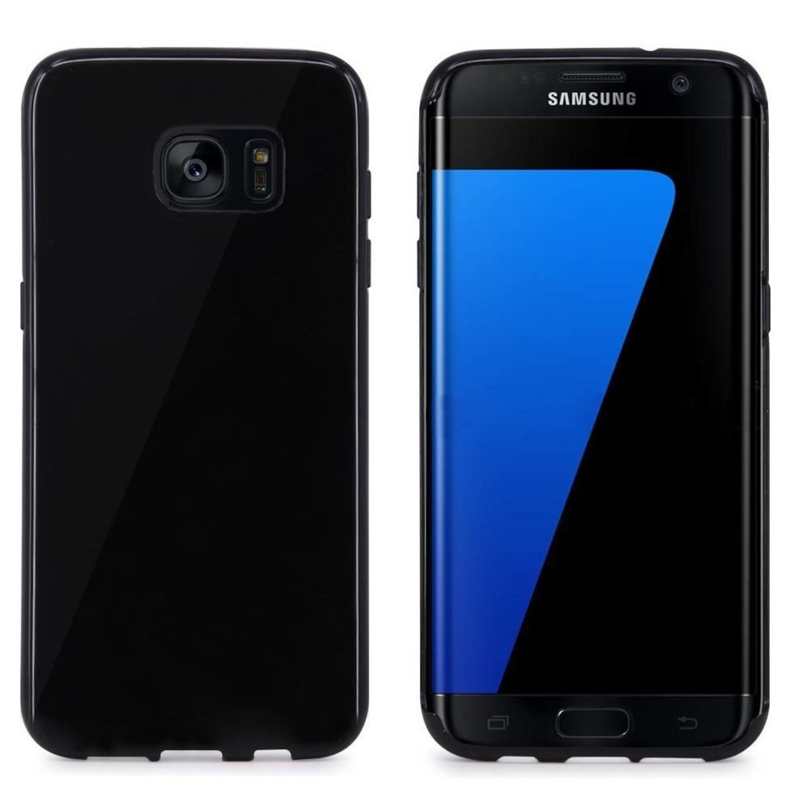 Colorfone Hoesje CoolSkin voor Samsung Galaxy S7 Edge Piano-Zwart