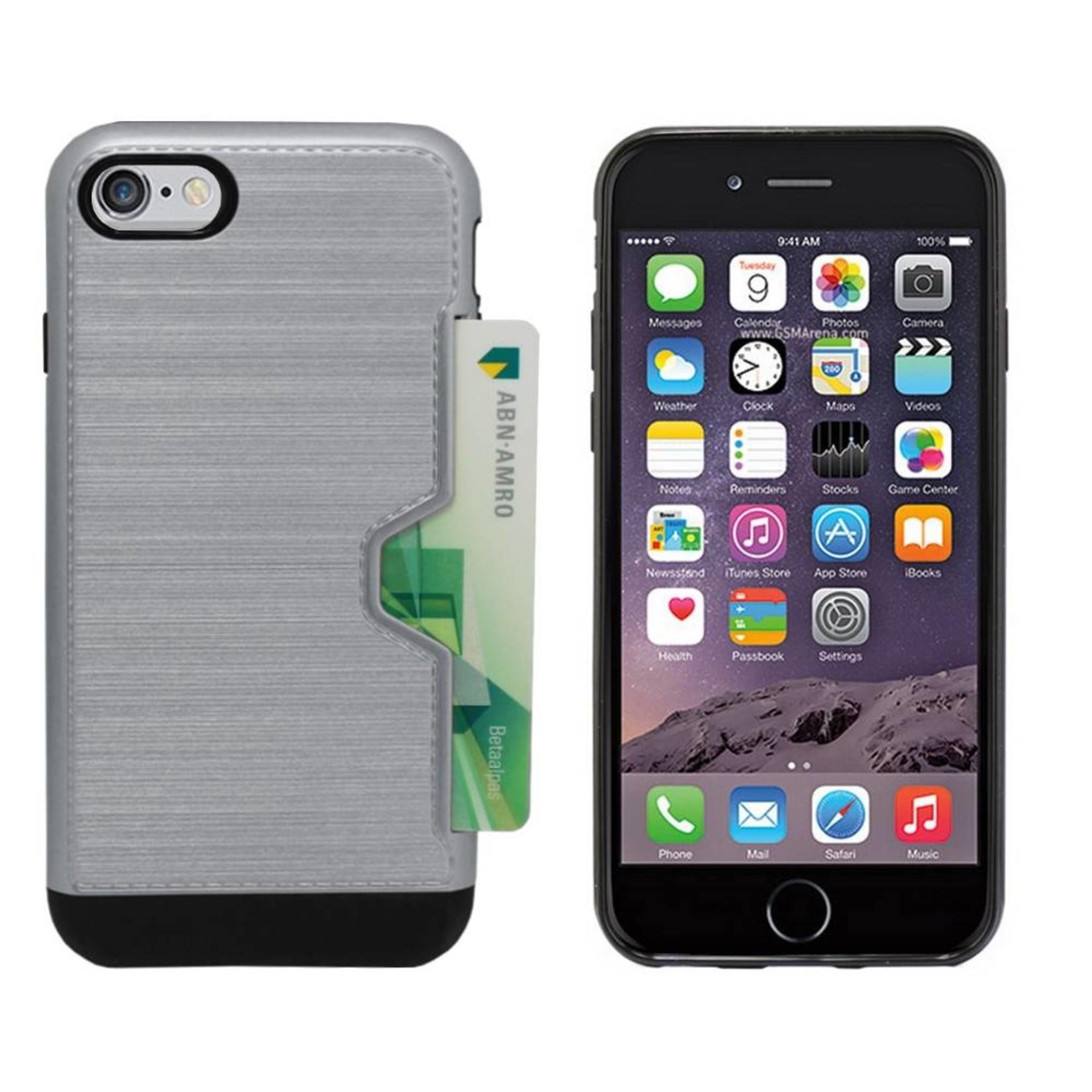 Colorfone Hoesje CardSkin Apple iPhone 8/7 Grijs