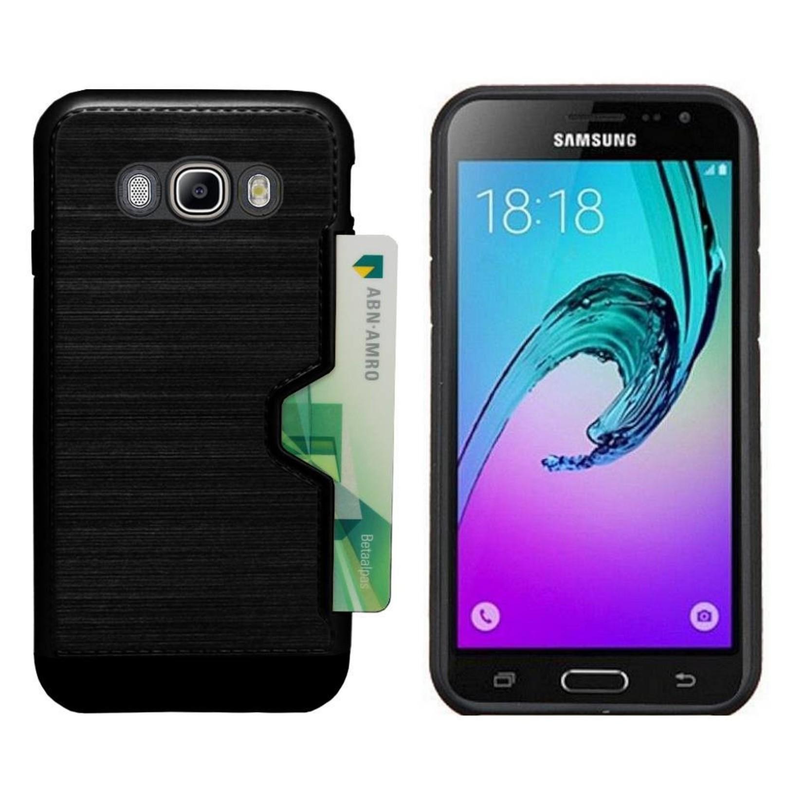 Colorfone Hoesje CardSkin Samsung J5 2016 Zwart