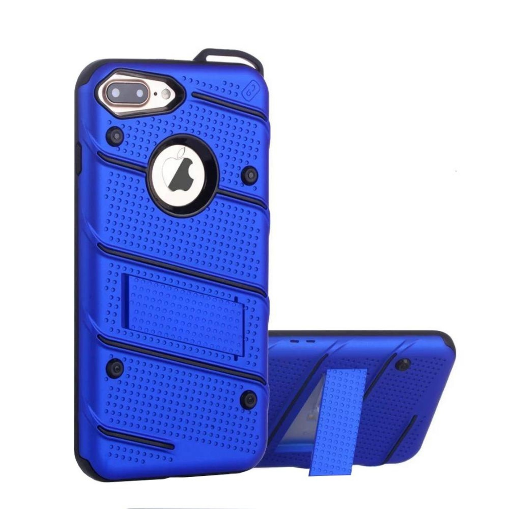 Colorfone Hoesje Armour Stand iPhone 7 Plus Blauw