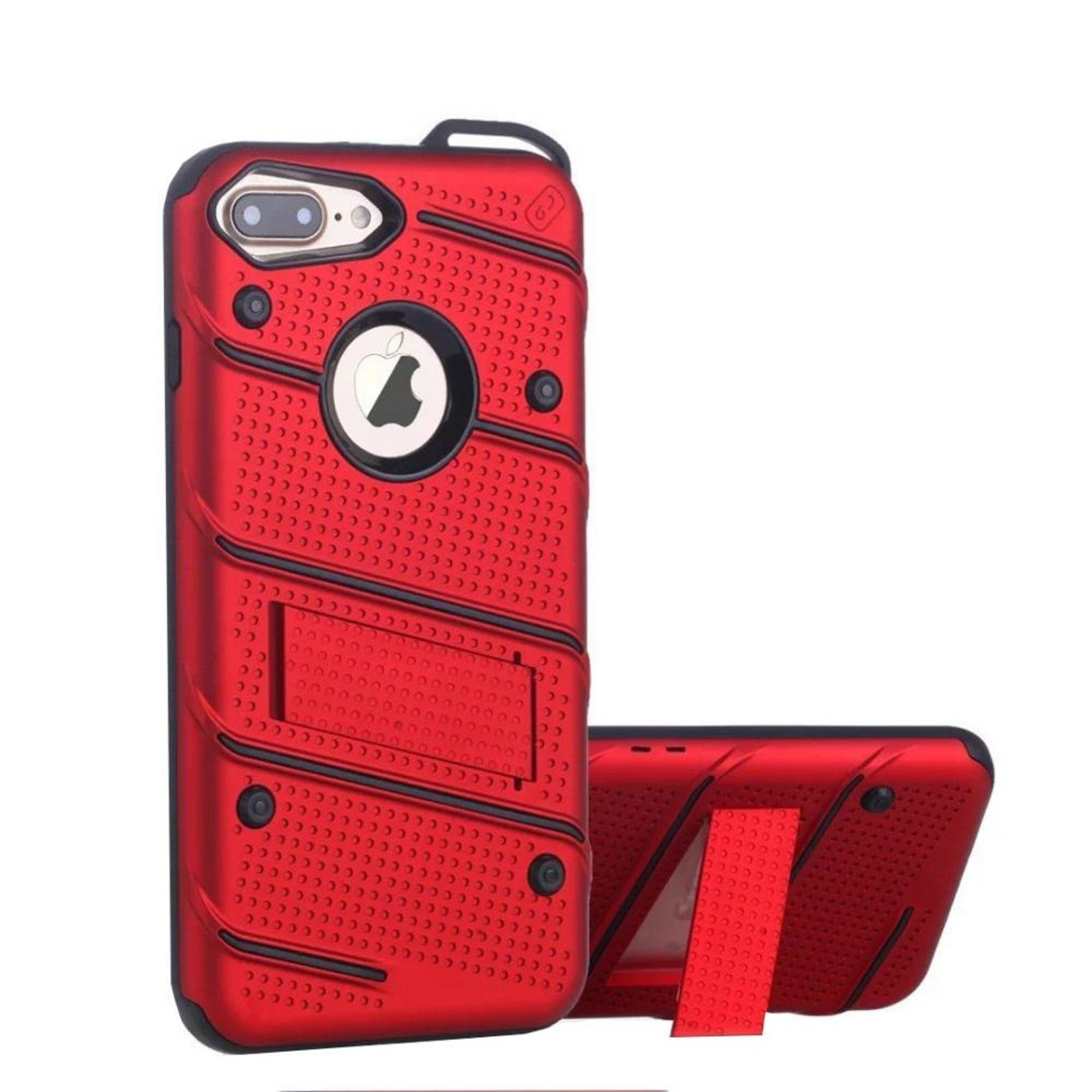 Colorfone Hoesje Armour Stand iPhone 7 Plus Rood