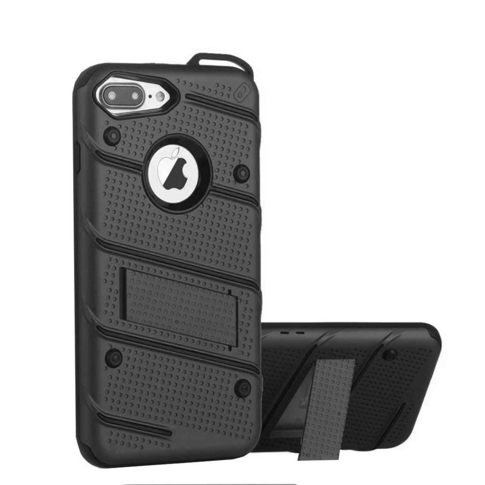 Colorfone Hoesje Armour Stand iPhone 7 Plus Zwart