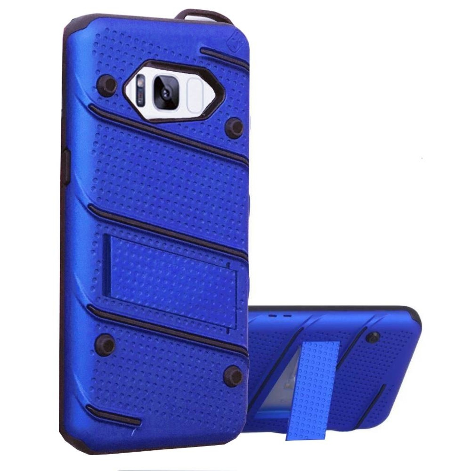 Colorfone Hoesje Armour Stand Samsung S8/Duos Blauw
