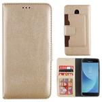 Colorfone Wallet Case Galaxy J5 2017 Goud