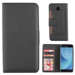 Colorfone Wallet Case Galaxy J7 2017 Zwart