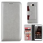 Colorfone Wallet Case Y5 2017/Y6 2017 Zilver