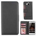 Colorfone Wallet Case Y5 2017/Y6 2017 Zwart