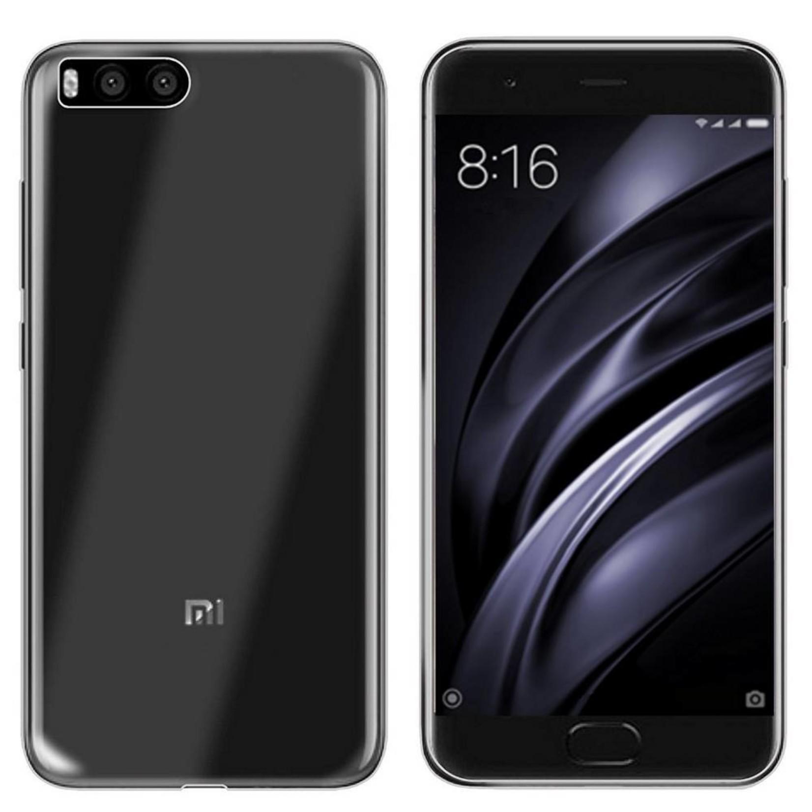 Colorfone Hoesje CoolSkin3T voor Xiaomi MI 6 Transparant Wit