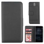 Colorfone Wallet Case Nokia 8 Zwart